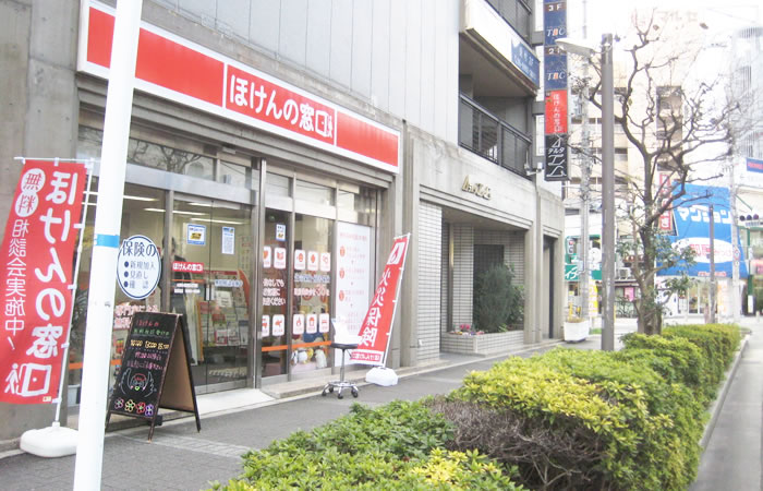 ほけんの窓口京阪守口店の店舗画像