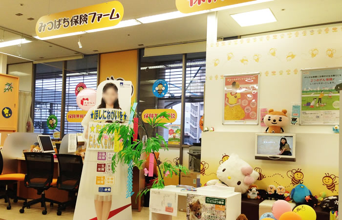 みつばち保険ファーム三和堀之内店の店舗画像