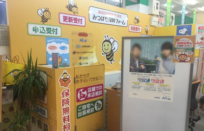 みつばち保険ファームエルエルタウン岡崎店の店舗画像
