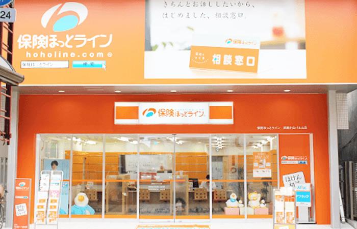 保険ほっとライン武蔵小山パルム店の店舗画像