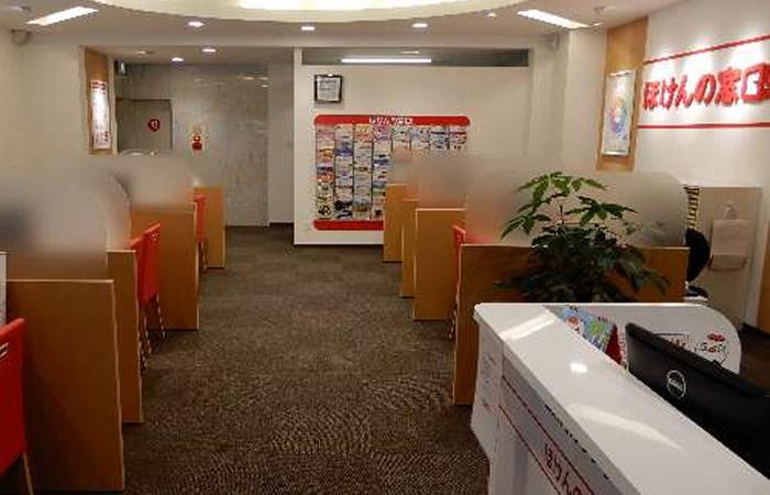 ほけんの窓口新橋店の店舗画像